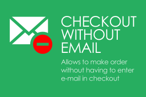 CS-Cart checkout without e-mail