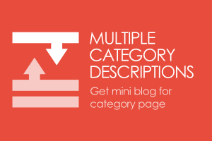 CS-Cart - multidescriptions for categories addon