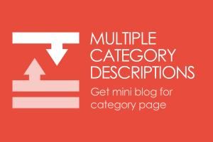 CS-Cart - модуль мультиописания категорий