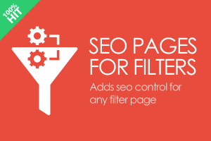 CS-Cart SEO pages for filters
