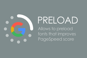 CS-Cart fonts preload for Google PageSpeed Insights