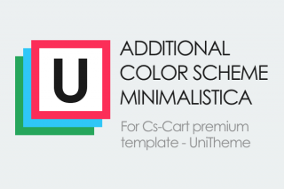 Additional color scheme Minimalistica for UniTheme template