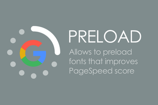 CS-Cart preload шрифтов для Google PageSpeed Insights