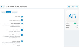 CS-Cart add-on - Advanced image previewers - settings